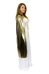 "Cape 44"" Metallic Lame Assorted Colors"