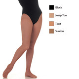 Body Wrappers TotalSTRETCH Convertible Girl's Tights C31