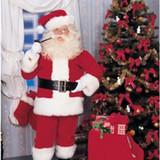 Imperial Santa Suit Regal Red 40 - 48 Jacket Size Costume
