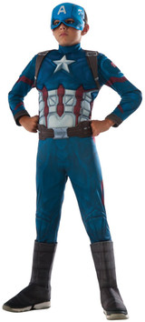 Avengers Licensed Captain America Costume Kids Muscle Chest Costume From Infinity War Marvel