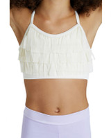 Ailia Girls Fringed Front X Back Bra Top