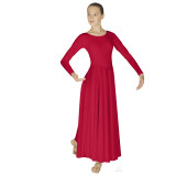 Simplicity Lades Long Sleeve Dancer Dress