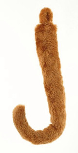 "Animal Tail 18"" Golden Brown Cat Mouse Lion"