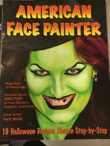 learn how to face paint halloween designs, step by step book to help you face paint kids or adults.