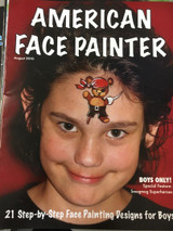 american face paint, learn how to face paint with step by step instructions.