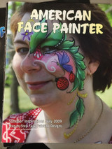 learn how to face paint adult and kids designs with a step by step how to book.