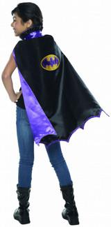 Batgirl Kid's Deluxe Black Cape