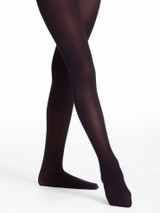 Body Wrappers Black Size L/XL Ladies Total Stretch Footed Professional Dance Tights