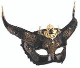 Elegant Faun Mask Mardi Gras Sunglasses Style