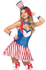 Leg Avenue Yankee Doodle Darling Ladies Costume