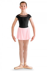 Bloch Box Pleat Side Pearl Stud Skirt