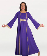 Ladies dress with Princess seam panels comes in different colors by body wrappers