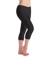 Motionwear Flat Waist Capri Leggings Womens (7123A)