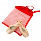 Red Mesh Shoe Bag