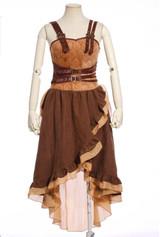 Brown Steampunk Dress