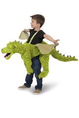 Green Ride-In Dragon