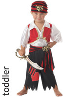 Ahoy Matey! Toddlers Pirate Costume