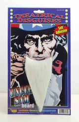Uncle Sam Goatee / Beard with Self-adhesive tape