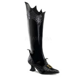 Glitter Witch Boot With Pointed Toe