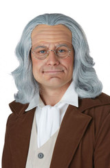Benjamin Franklin Wig Adult