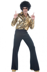 Disco King Mens Plus Costume