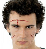 EZ FX Kit Cut Set of 3 No Glue Needed with Blood