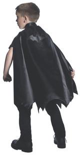 Batman cape w/ embroidered logo kids deluxe