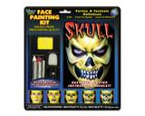 Face painting kit skull