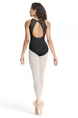 Bloch Bow Detail Open Back Camisole Child's Leotard