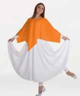 Body Wrappers Handkerchief Hem Skirt/Shoulder Drape
