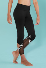 Bloch Confetti Printed 7/8 Legging Girls
