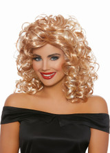 1950s Curly Blonde Wig Dreamgirl