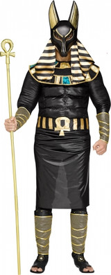 Anubis Plus Size Adult Egyptian Costume