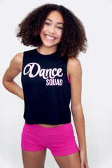 Dance Squad Muscle Tank Girls