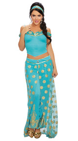 Dreamgirls Arabian Princess 2pc Ladies Costume