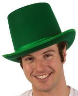 Green Felt Coachman Hat