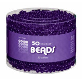 50 Strands of Beads Purple