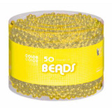 50 Strands of Beads Gold