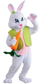 Easter Rabbit Female Bunny Deluxe Costume Mascot
