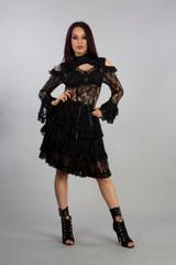 Kyra Dress Ladies Lace Dress
