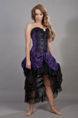 Elizabeth Vintage Corset Dress Taffeta Ladies