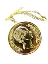 Caesar Coin Necklace
