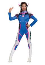 D.VA Licensed Overwatch Ladies Costume