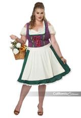 Bavarian Beer Maid Plus Size