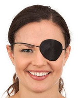 Silk Pirate Eyepatch