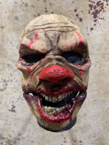 Pumpkin Pulp Giggles Clown Movable Mouth Mask
