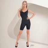 Eurotard Julie France Plus Size Full Body Boxer Body Shaper - Nude