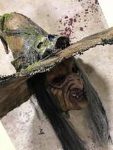 Pumpkin Pulp Bone Crone Hat and Mask