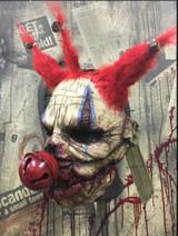 Pumpkin Pulp Jingles Clown Movable Mouth Mask