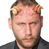 Curld Devil Horns Foam Prosthetic